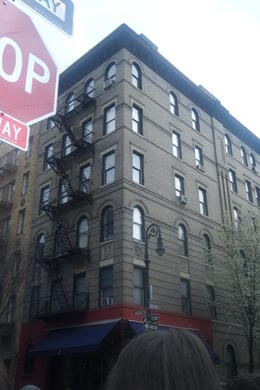 Photo of New York City New York TV and Movie Sites Tour Building for opening of  and quot;Friends and quot;