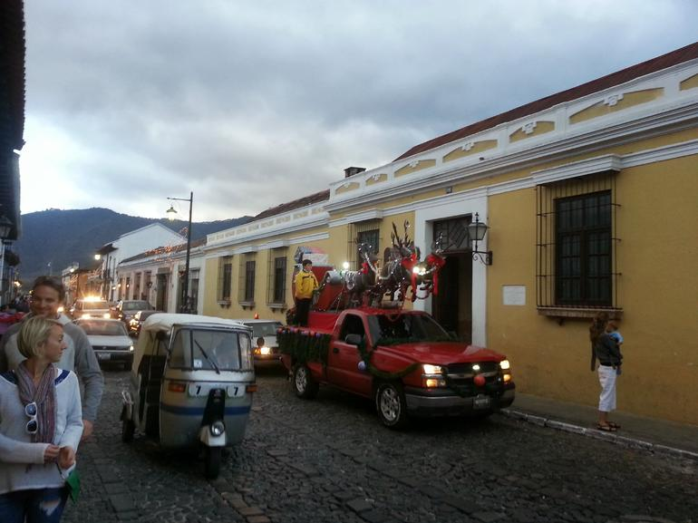 Christmas Eve in Antigua - Guatemala