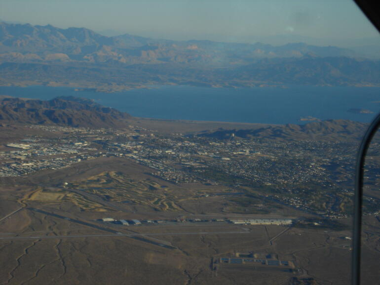 Getting closer to Lake Mead - Las Vegas
