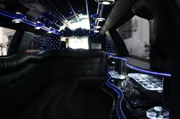 Photo of Las Vegas Private Las Vegas Airport to Hotel Luxury Limousine Transfer Inside the Limo