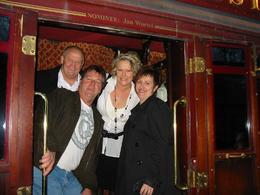 Sonny, Johno, Kyls & Deb at the beginning of the Colonial Tram Restaurant touring our beautiful city. Such a wonderful time had by all, we'll definitely go again., Kylie J - September 2009