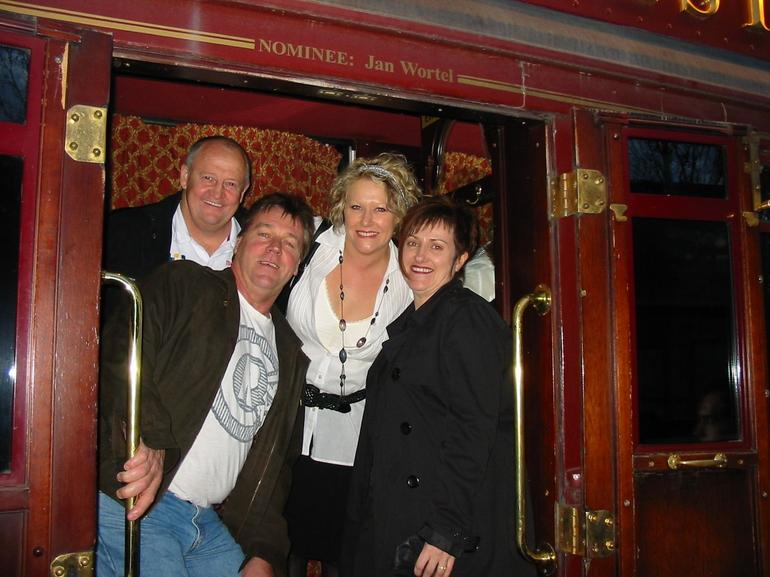 Looking forward to our Colonial Tram Ride - Melbourne