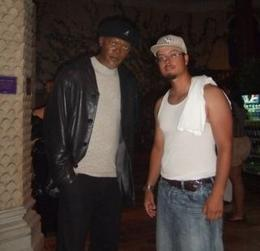 Photo of New York City The New York Pass Me and Samuel L. Jackson