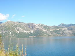 This was a quick photo break we took on our way to Kotor. Breathtaking..... , Emily M - August 2011