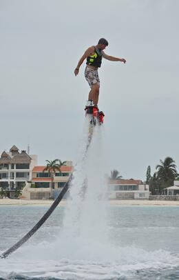 Photo of Cancun Cancun Flyboard Experience Must do in Cancun!