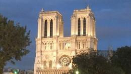 Photo of Paris Paris Night Bike Tour Notre Dame at night