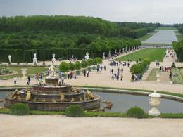 Photo of Paris Versailles and Giverny Day Trip People in the garden of Versailles
