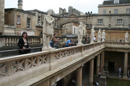 Photo of London England in One Day Trip Roman Baths Statues