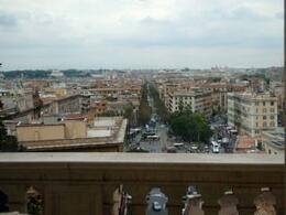 ...as seen from a window in the Vatican Museum. , Zenobia L - October 2012