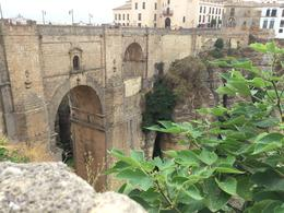 the gorge, bridge in ronda , elaine m - August 2015