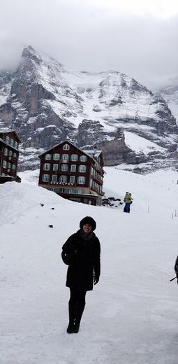 Photo of Zurich Jungfraujoch: Top of Europe Day Trip from Zurich The North Face of the Eiger from KS Station