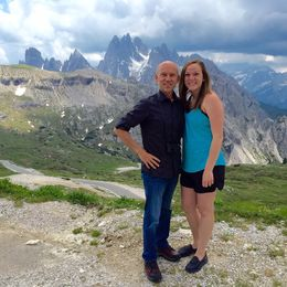 My daughter and I at the top of the mountain. , Koby M - June 2015