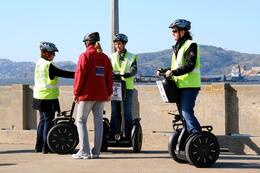 Photo of San Francisco San Francisco Waterfront Segway Tour Tour guide helping us out