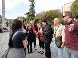 Mr.Tour Guide( 3rd from right) , Weicheng G - November 2013
