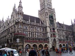 This is in the square at Marienplatz. Such a pretty place to be and more shopping than anyone can cover. - August 2010