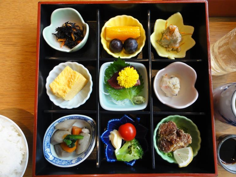 Traditional Japanese lunch. - Tokyo