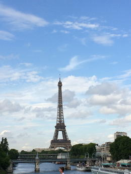Photo of Paris Best of Paris Tour Including Versailles and Lunch at the Eiffel Tower view from the bus