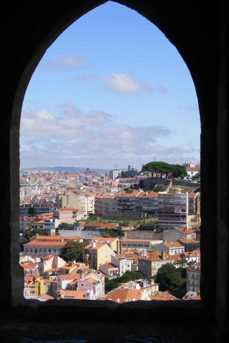 View from the Castle over lisbon - Lisbon