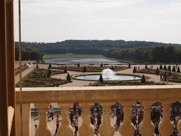 The gardens of Versaille - view taken from Louis XIV bedroom, Yvonne M - September 2010