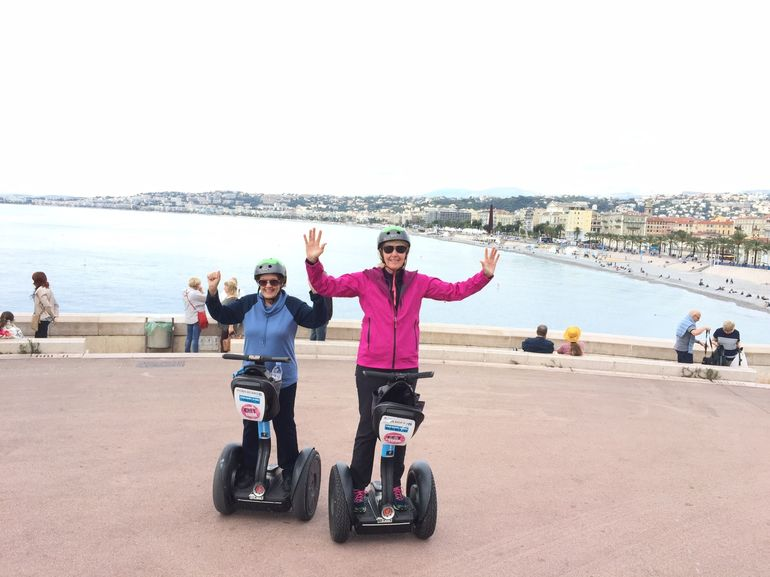 A Segway Tour one will never forget in Nice, France with David!