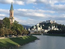 A beautiful day in Salzburg , BEVERLEY - September 2015