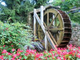 The Old Water Wheel , Pamela P - December 2014