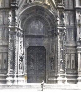 Photo of Florence Florence Half-Day or Full-Day Sightseeing Tour Cathedral Doors Florence 19450001