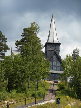 Photo of Oslo Selected Oslo City Tour Including the Viking Ship Museum Chapel at the Ski Jump