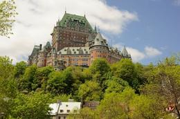 Photo of   Chateau Frontenac in spring, Old Quebec City