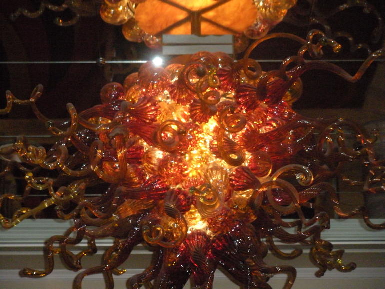 Dale Chihuly Glass Blown Lights - Las Vegas