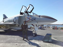 One of the F4's on board USS Midway , afiqaza - October 2013