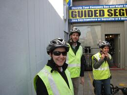 Photo of San Francisco San Francisco Waterfront Segway Tour Getting geared up