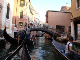 Photo of Venice Venice Gondola Ride and Serenade with Dinner Going down the Canals