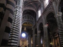 Inside the Siena Cathedral., Nicole H - December 2008