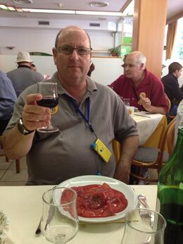 Bresoala and unlimited red wine :) , rosebuds63 - July 2013