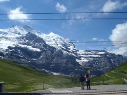 Jungfrau mountains , Pamela M - July 2011