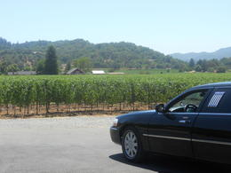 Photo of Napa & Sonoma Napa Valley Wine Country Semi-Private Limo Tour Parked up