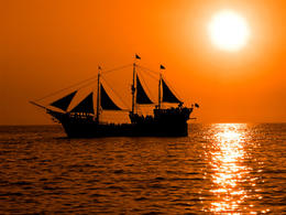 Photo of   Pirate boat, La Marigalante