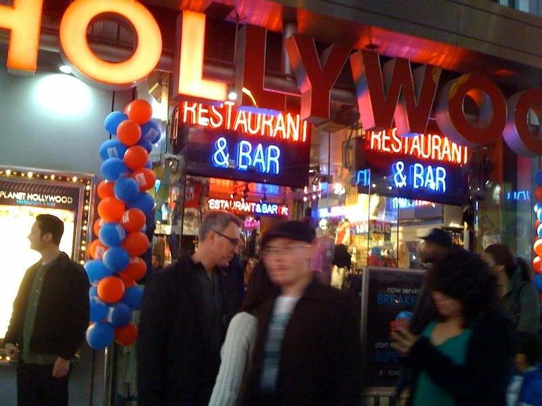 Planet Hollywood - New York City