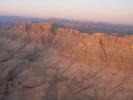 Photo of Las Vegas Grand Canyon West Rim Deluxe Sunset Helicopter Tour The sun going down