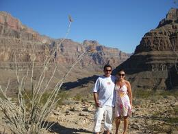 Photo de Las Vegas Grand Canyon : sortie en hélicoptère typiquement américaine Together in the Canyon