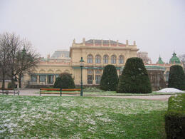 Photo of   View of the Kursalon in the Stadtpark in Vienna