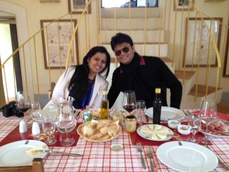 Wine Tasting over Lunch - Florence