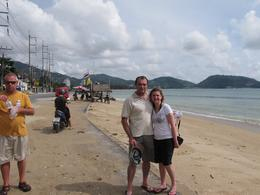 photo of us on our second day in phuket. enjoying the good life., TREVOR M - September 2010
