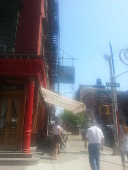 Bar used in SATC , Ricky C - September 2014