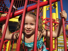Lanie At Curious George water Adventure, Becky - July 2011