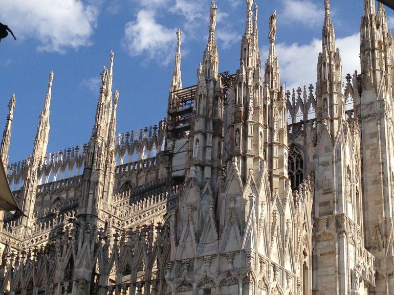 Milan Duomo, beautiful and jaw dropping.