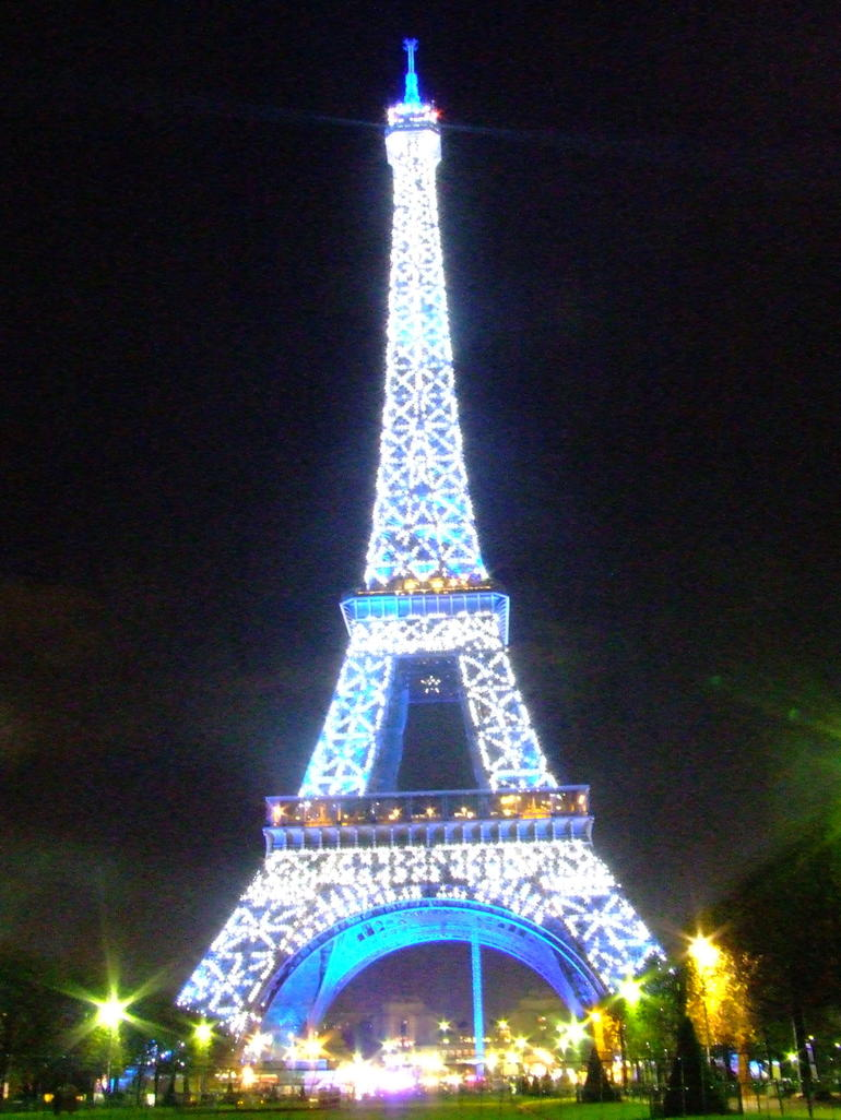 Eiffle Tower, Paris -