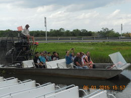 Another Airboat ride. , Leonila C - May 2015