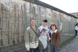 Family at the wall, Cheryl C - April 2010